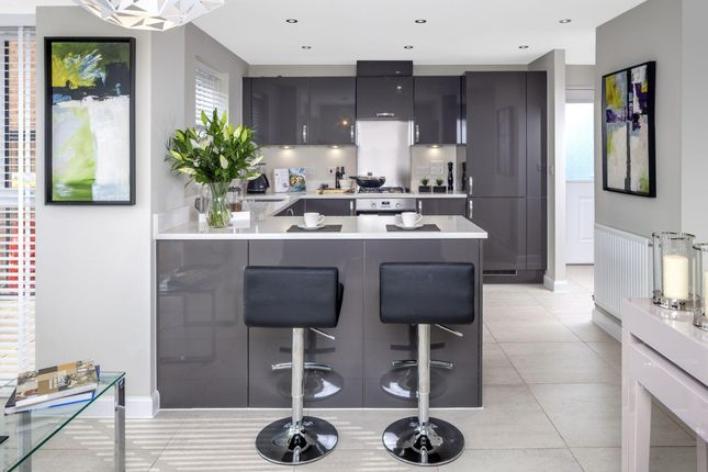 "Thumbnail End terrace house for sale in ""Linen III"" at Hackbridge Road, Wallington"