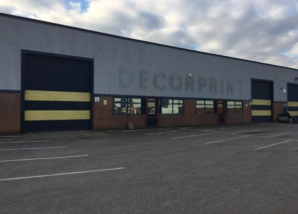 Thumbnail Light industrial to let in Units 3 & 4, Ecclesbourne Park Industrial Estate, Cotes Park Lane, Alfreton, Derbyshire