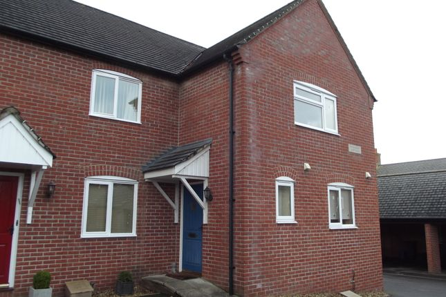 Thumbnail End terrace house to rent in Millwey Court, Axminster, Devon