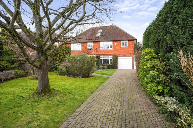 Thumbnail Detached house for sale in Lower Peryers, East Horsley, Surrey