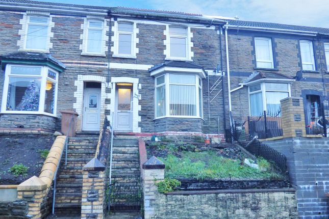Thumbnail Terraced house for sale in Queens Road, Rhymney Valley, Caerphilly, Gwent