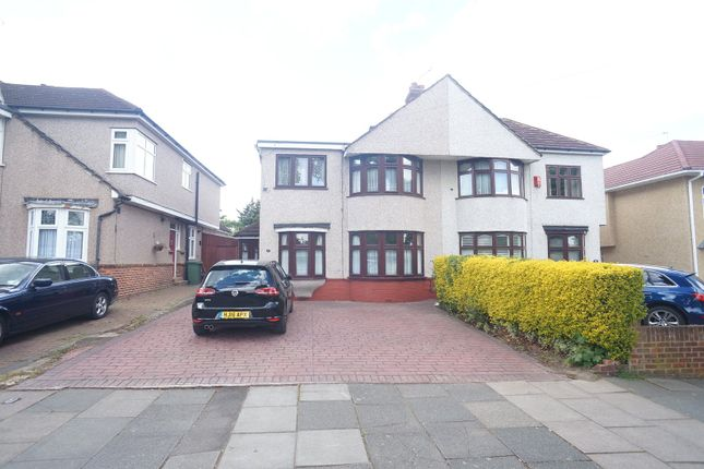 Thumbnail Semi-detached house to rent in Marlborough Park Avenue, Sidcup
