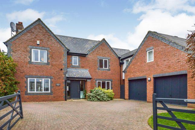 Thumbnail Detached house for sale in London Road, Broughton, Milton Keynes