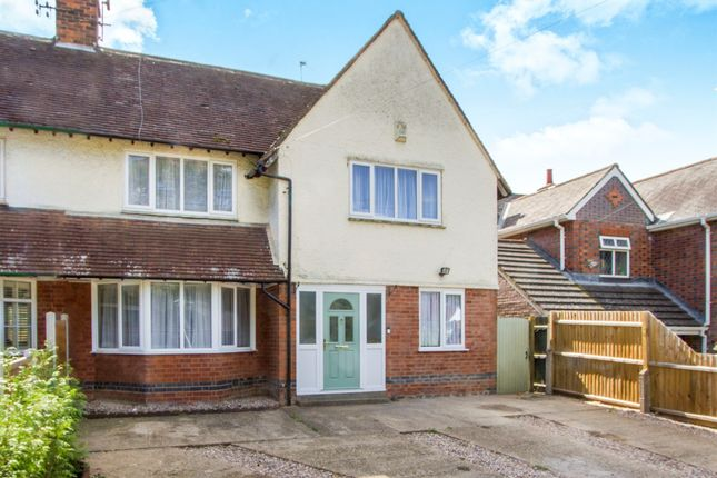 Thumbnail Semi-detached house for sale in Leicester Road, Oadby, Leicester
