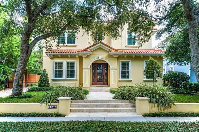 Thumbnail Property for sale in 2908 West Bayshore Court, Tampa, Florida, United States Of America