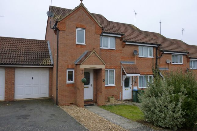 Thumbnail End terrace house to rent in Clover End, Buckingham, Bucks