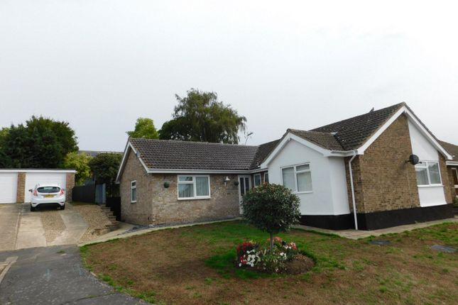 Thumbnail Detached bungalow for sale in Millfield Avenue, Stowmarket
