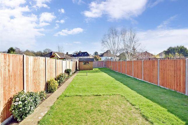 Garden of Bell Lane, Ditton, Aylesford, Kent ME20