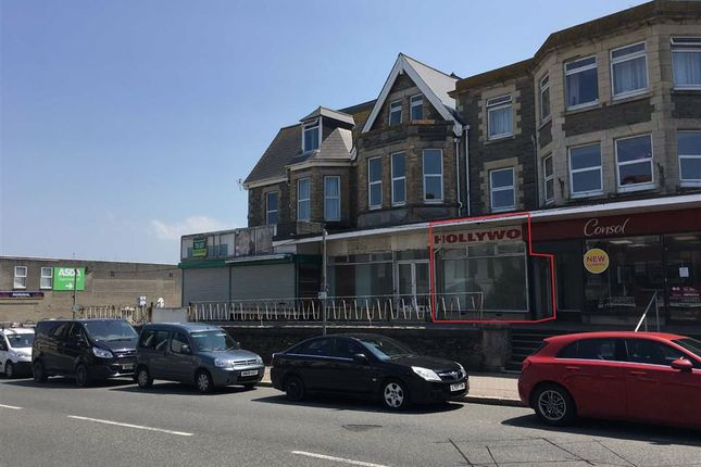 Thumbnail Retail premises to let in Morfa Hall, 22A, (Unit 2) Cliff Road, Newquay