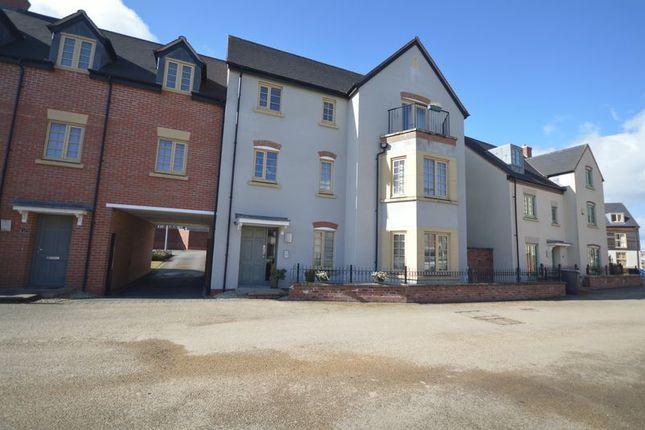 Thumbnail Flat for sale in St. Johns Walk, Lawley Village, Telford