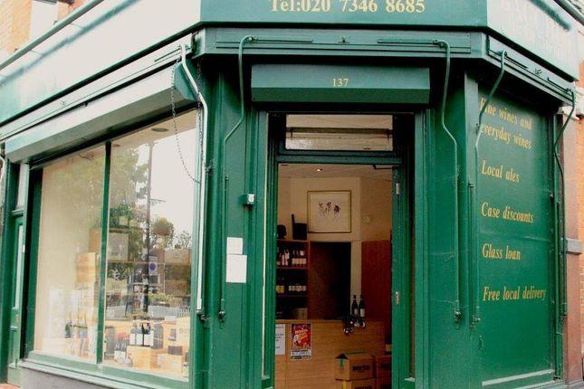 Thumbnail Retail premises for sale in Half Moon Lane, London