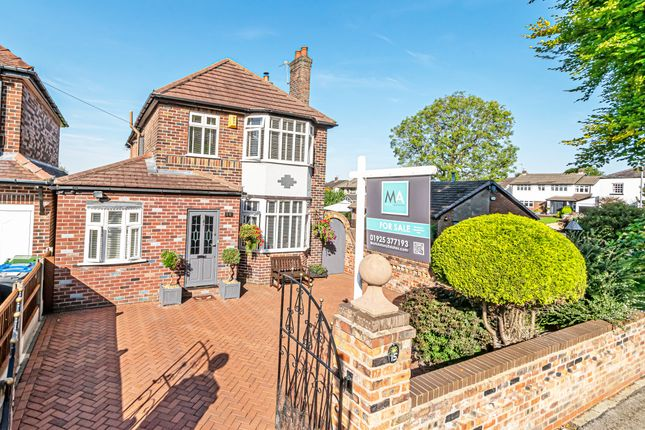 Thumbnail Detached house for sale in Bellhouse Lane, Grappenhall, Warrington, Cheshire