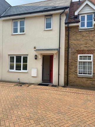 Thumbnail Terraced house to rent in Charles Church Walk, Gants Hill