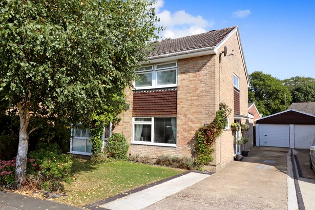 Thumbnail Semi-detached house for sale in Meadow Gardens, Waltham Chase, Southampton