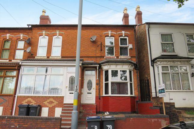 Thumbnail Terraced house for sale in Mansel Road, Small Heath, Birmingham