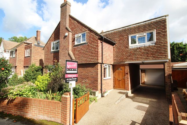 Thumbnail Detached house for sale in Vicarage Road, Staines