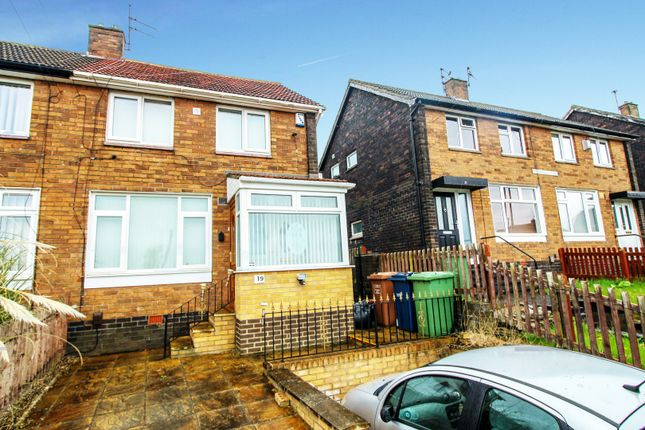 Thumbnail 2 bed semi-detached bungalow for sale in Rutherford Square, Sunderland, Tyne And Wear
