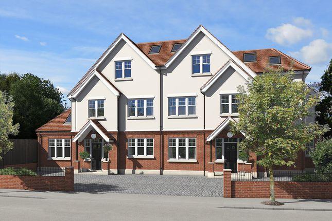 Thumbnail Semi-detached house for sale in Cranes Park Avenue, Surbiton