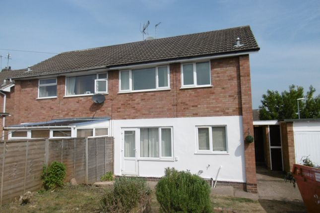 Thumbnail Semi-detached house to rent in Hawkswood Close, Chilwell