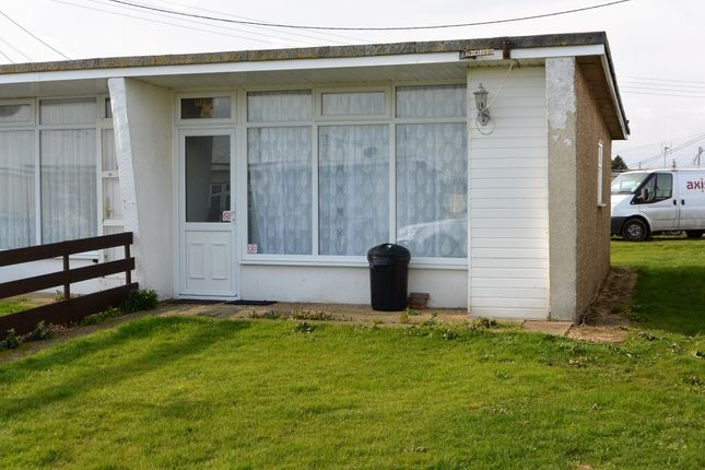 Thumbnail Bungalow for sale in Club Parade, Bel Air Chalet Estate, St. Osyth, Clacton-On-Sea