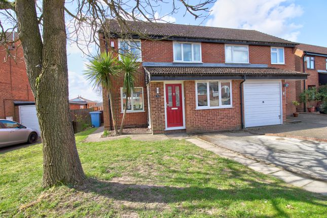 3 bed semi-detached house for sale in Firtree Rise, Ipswich IP8