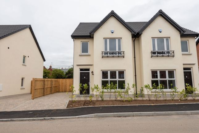 Thumbnail Semi-detached house for sale in Old School House Mews, Ballinderry Lower, Lisburn