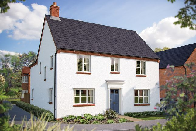 "Thumbnail Detached house for sale in ""The Ansell"" at Rush Lane, Bidford-On-Avon, Alcester"