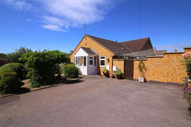 Thumbnail Semi-detached bungalow for sale in Hillary Road, Shakespeare Gardens, Rugby