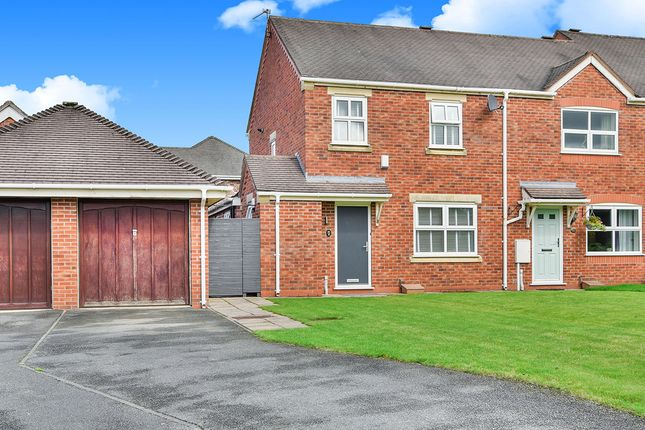 3 bed end terrace house for sale in Birkdale Close, Tytherington, Cheshire SK10