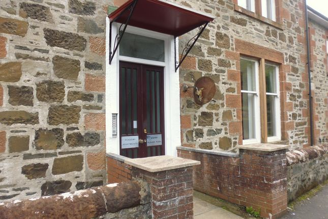 Entrance of Garden Flat, Academy Apartments, Academy Road, Rothesay, Isle Of Bute PA20