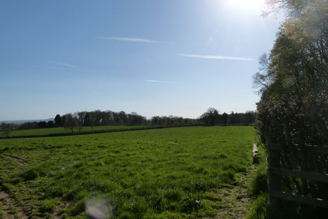Land for sale in Tedsmore Road, Oswestry