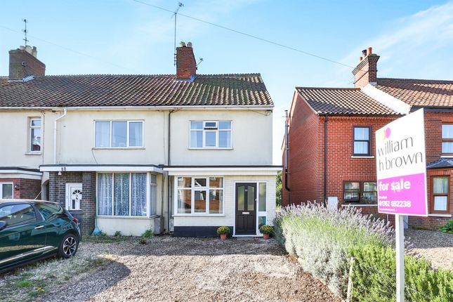 Thumbnail End terrace house for sale in Norwich Road, Dereham