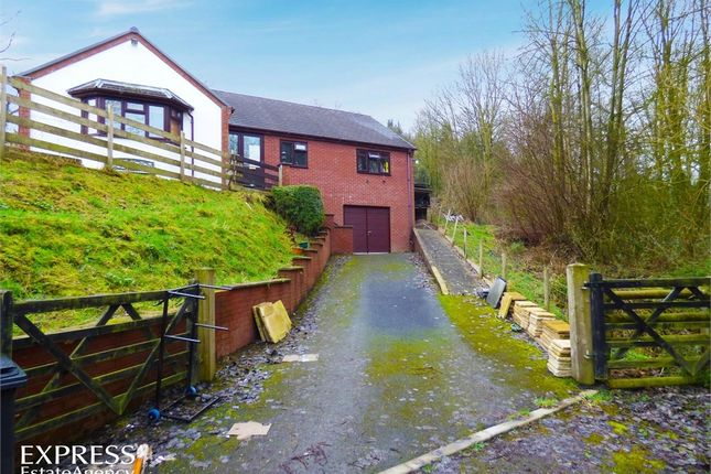 Thumbnail Detached bungalow for sale in Pont Robert, Meifod, Powys