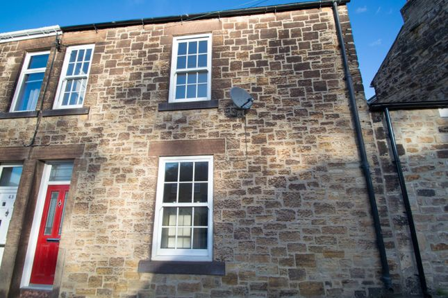 Thumbnail Terraced house to rent in Durham Road, Blackhill, Consett