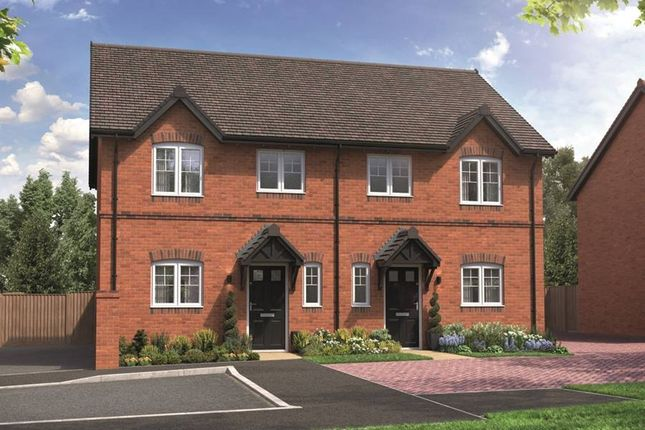 """Thumbnail Semi-detached house for sale in """"The Guydon"""" at School Road, Salford Priors, Evesham"""