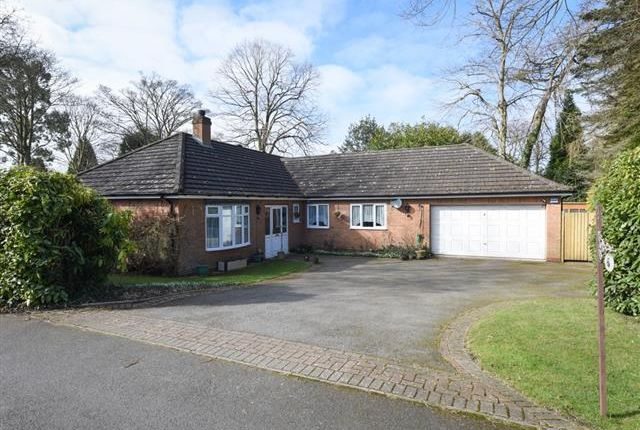 Thumbnail Detached bungalow for sale in Woodside, Off Streetly Lane, Four Oaks, Sutton Coldfield