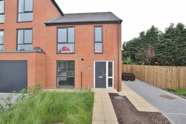 Thumbnail 4 bed semi-detached house for sale in Barleyfield, Pensby, Wirral