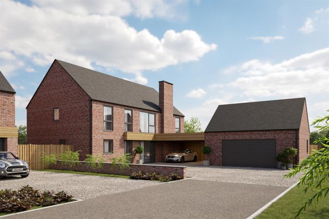 Thumbnail Detached house for sale in Plot 1, Walnut Tree Drive, Reepham