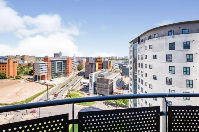 Balcony of Masshouse Plaza, Birmingham, West Midlands B5