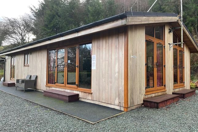 Thumbnail Lodge for sale in Trefeglwys, Caersws