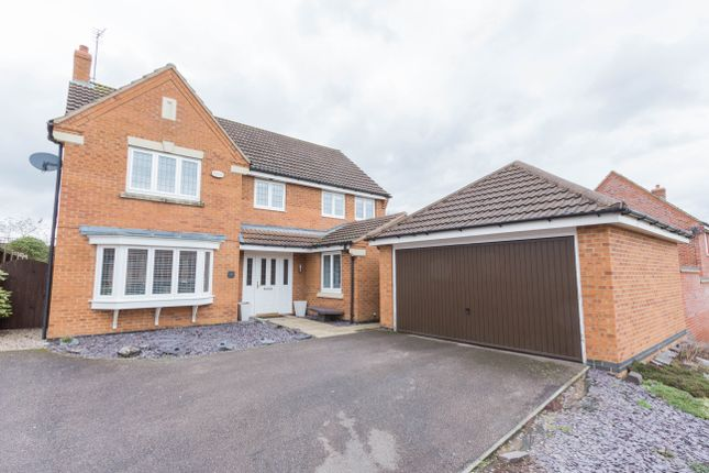 Thumbnail Detached house for sale in Presland Way, Irthlingborough, Wellingborough