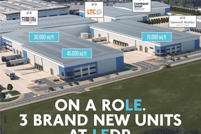 Industrial to let in Leicester Distribution Park - LE3, Leicester, Leicestershire