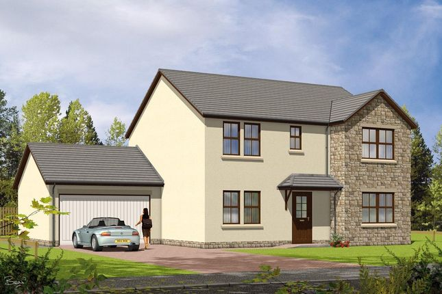 Thumbnail Detached house for sale in Moulinview, Gs Brown Construction, Pitlochry