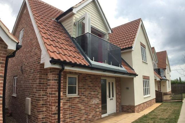Thumbnail Detached house to rent in Lower Harlings, Shotley Gate, Ipswich