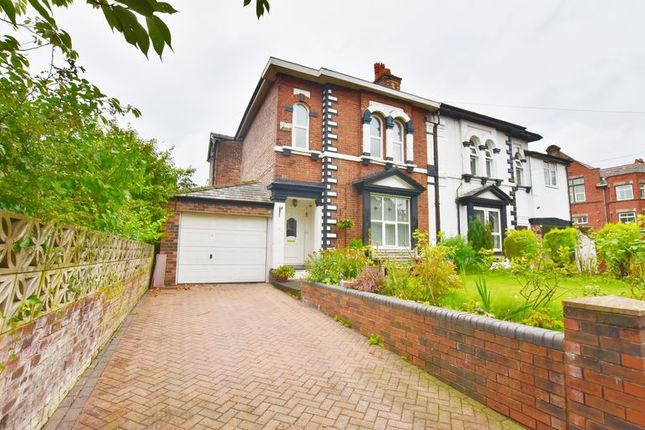 Thumbnail Semi-detached house for sale in Belgrave Crescent, Eccles, Manchester