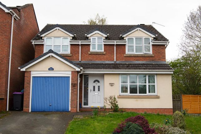 Thumbnail Detached house for sale in The Foxes, Sutton Hill, Telford