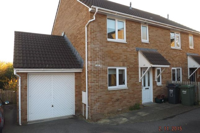 Thumbnail Semi-detached house to rent in Stoat Park, Barnstaple