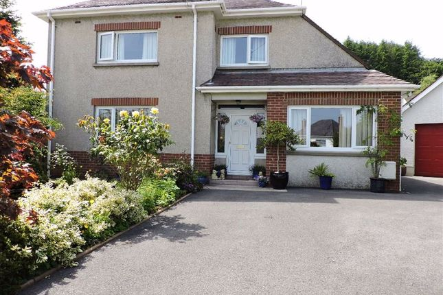 Thumbnail Detached house for sale in Mostyn Avenue, Carmarthen