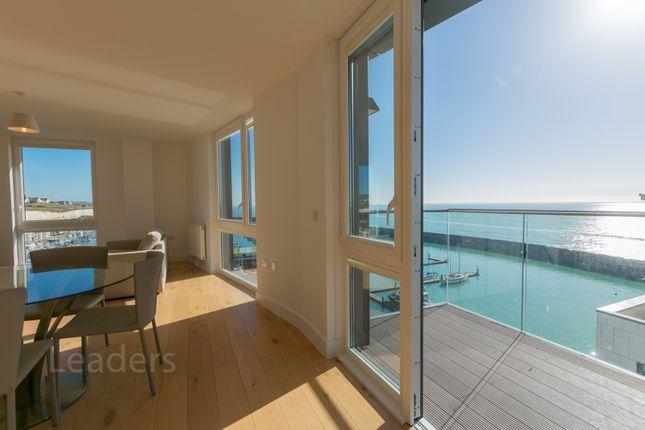 Thumbnail Flat to rent in The Boardwalk, Brighton Marina Village, Brighton