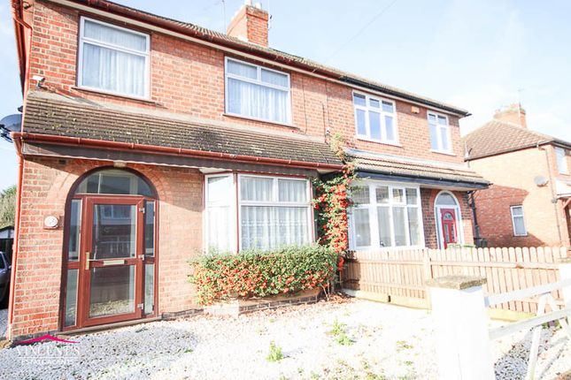 Thumbnail Semi-detached house for sale in Park Drive, Leicester Forest East